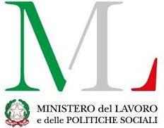 Logo del Ministero del Lavoro